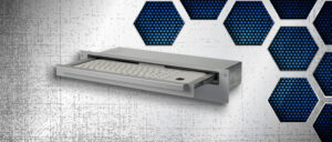 "Industrie-Tastaturschublade 19"" 1 HE - GK 1x55-K"