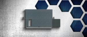 """Industrie-Tastaturschublade mit Mausablage 19"""" 2 HE, GK 1x55-K"""