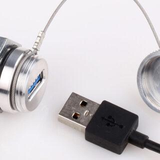 USB Stecker für Industriegehäuse